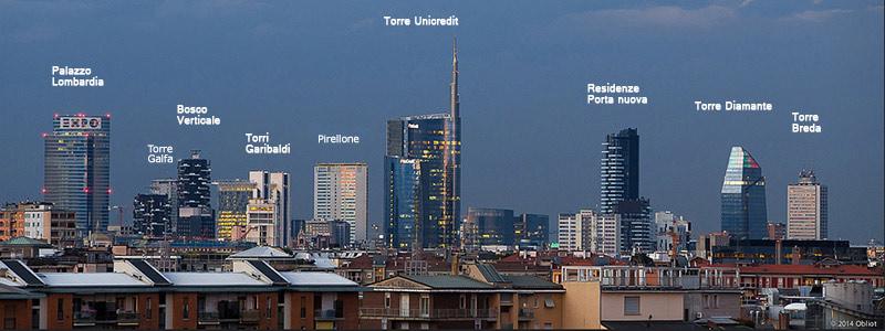 Gita skyline a Milano 1