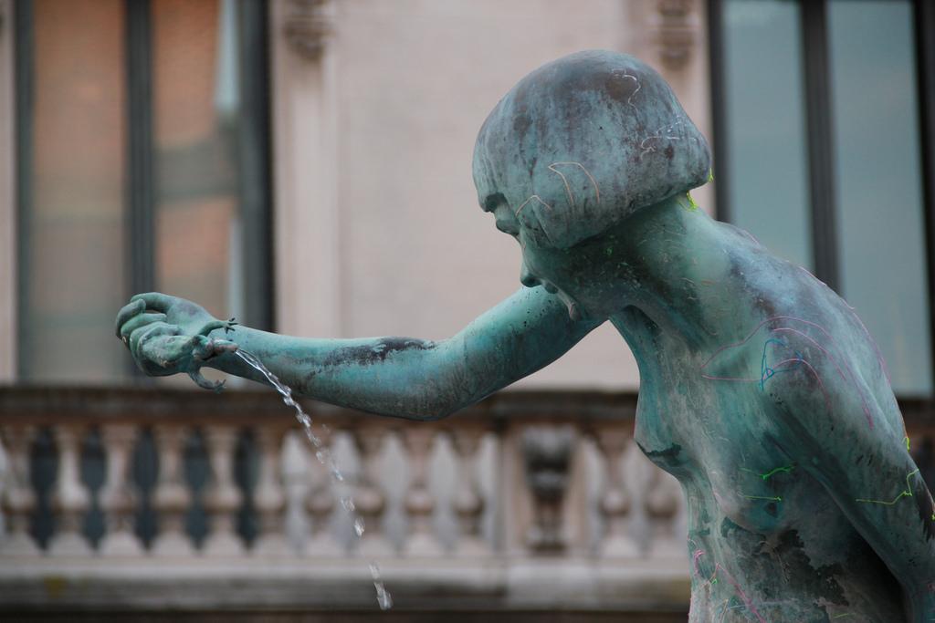 Fontana delle rane Monza